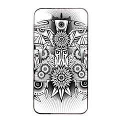 Forest Patrol Tribal Abstract Apple Iphone 4/4s Seamless Case (black)
