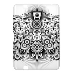 Forest Patrol Tribal Abstract Kindle Fire Hd 8 9