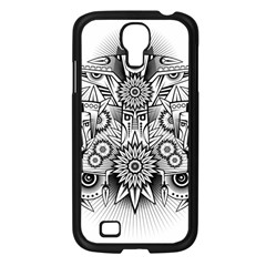 Forest Patrol Tribal Abstract Samsung Galaxy S4 I9500/ I9505 Case (black)