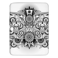 Forest Patrol Tribal Abstract Samsung Galaxy Tab 3 (10 1 ) P5200 Hardshell Case