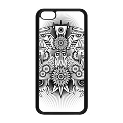 Forest Patrol Tribal Abstract Apple Iphone 5c Seamless Case (black)