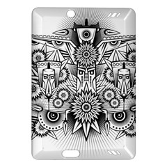 Forest Patrol Tribal Abstract Amazon Kindle Fire Hd (2013) Hardshell Case