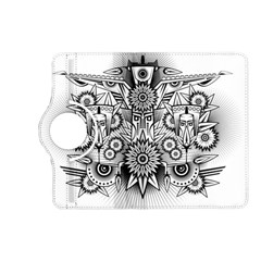 Forest Patrol Tribal Abstract Kindle Fire Hd (2013) Flip 360 Case