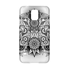 Forest Patrol Tribal Abstract Samsung Galaxy S5 Hardshell Case