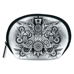 Forest Patrol Tribal Abstract Accessory Pouches (medium)
