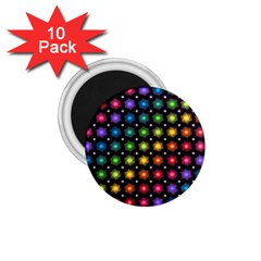 Background Colorful Geometric 1 75  Magnets (10 Pack)
