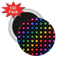 Background Colorful Geometric 2 25  Magnets (100 Pack)