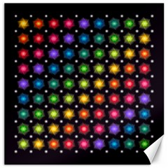 Background Colorful Geometric Canvas 12  X 12