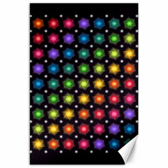 Background Colorful Geometric Canvas 24  X 36