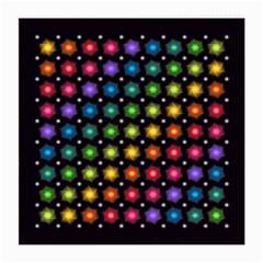Background Colorful Geometric Medium Glasses Cloth