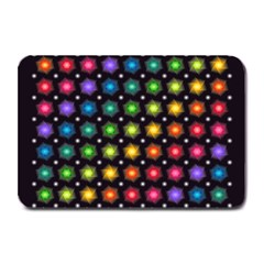Background Colorful Geometric Plate Mats