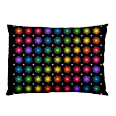 Background Colorful Geometric Pillow Case