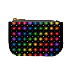 Background Colorful Geometric Mini Coin Purses
