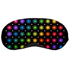 Background Colorful Geometric Sleeping Masks