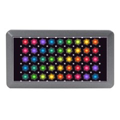 Background Colorful Geometric Memory Card Reader (mini)