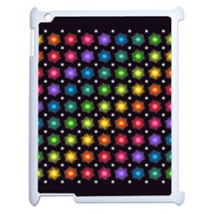 Background Colorful Geometric Apple Ipad 2 Case (white)