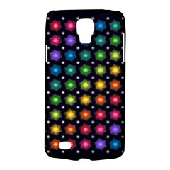 Background Colorful Geometric Galaxy S4 Active