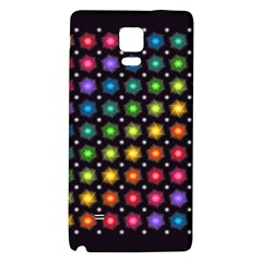 Background Colorful Geometric Galaxy Note 4 Back Case