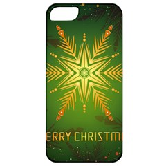 Christmas Snowflake Card E Card Apple Iphone 5 Classic Hardshell Case