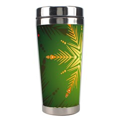 Christmas Snowflake Card E Card Stainless Steel Travel Tumblers