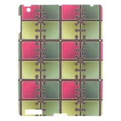 Seamless Pattern Seamless Design Apple Ipad 3/4 Hardshell Case