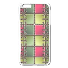 Seamless Pattern Seamless Design Apple Iphone 6 Plus/6s Plus Enamel White Case