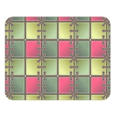 Seamless Pattern Seamless Design Double Sided Flano Blanket (large)