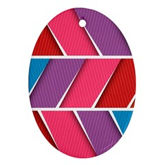 Abstract Background Colorful Ornament (oval)