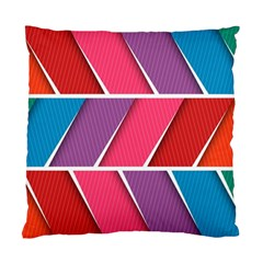 Abstract Background Colorful Standard Cushion Case (one Side)