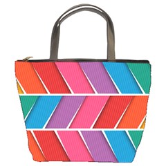 Abstract Background Colorful Bucket Bags