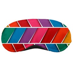 Abstract Background Colorful Sleeping Masks