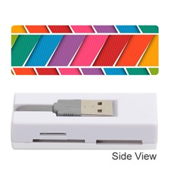 Abstract Background Colorful Memory Card Reader (stick)