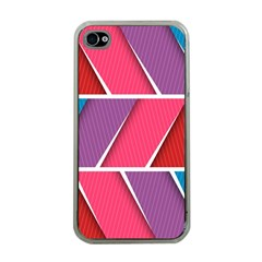 Abstract Background Colorful Apple Iphone 4 Case (clear)