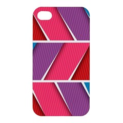 Abstract Background Colorful Apple Iphone 4/4s Hardshell Case