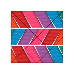 Abstract Background Colorful Acrylic Tangram Puzzle (4  X 4 )