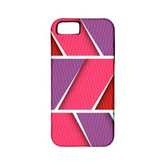 Abstract Background Colorful Apple Iphone 5 Classic Hardshell Case (pc+silicone)