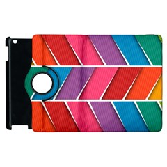 Abstract Background Colorful Apple Ipad 3/4 Flip 360 Case