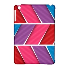 Abstract Background Colorful Apple Ipad Mini Hardshell Case (compatible With Smart Cover)