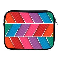 Abstract Background Colorful Apple Ipad 2/3/4 Zipper Cases