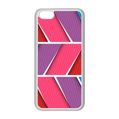 Abstract Background Colorful Apple Iphone 5c Seamless Case (white)