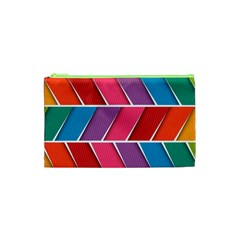 Abstract Background Colorful Cosmetic Bag (xs)