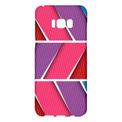 Abstract Background Colorful Samsung Galaxy S8 Plus Hardshell Case
