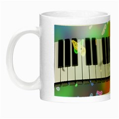 Piano Keys Music Colorful 3d Night Luminous Mugs