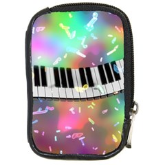 Piano Keys Music Colorful 3d Compact Camera Cases