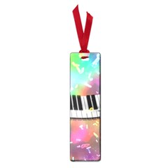 Piano Keys Music Colorful 3d Small Book Marks