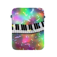 Piano Keys Music Colorful 3d Apple Ipad 2/3/4 Protective Soft Cases