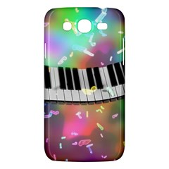 Piano Keys Music Colorful 3d Samsung Galaxy Mega 5 8 I9152 Hardshell Case