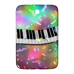 Piano Keys Music Colorful 3d Samsung Galaxy Note 8 0 N5100 Hardshell Case