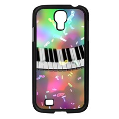 Piano Keys Music Colorful 3d Samsung Galaxy S4 I9500/ I9505 Case (black)