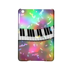 Piano Keys Music Colorful 3d Ipad Mini 2 Hardshell Cases